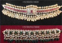 uncut diamond choker designs