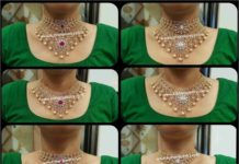 4 in 1 multi purpose diamond choker designs