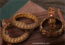 antique gold lakshmi bangles (1)