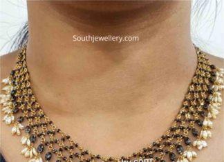 diamond diamond mangalsutra necklace