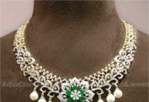 diamond emerald necklace (1)