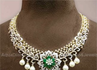 diamond emerald necklace (1)