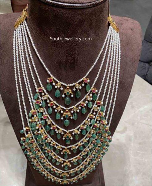 emerald and pearl satlada haar