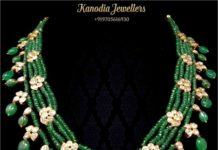 emerald beads necklace (2)