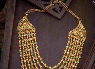 layered gold haram