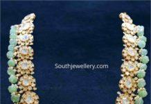polki diamond haram by aqua diamonds and jewels