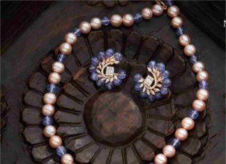 tanzanite beads necklace (1)
