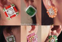 big stud earrings designs