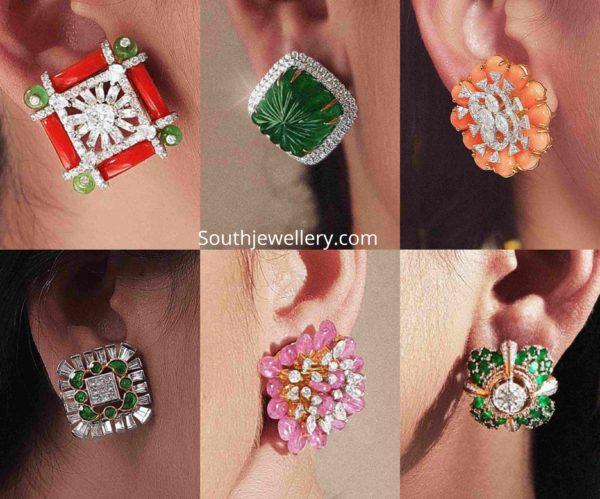 big stud earrings designs