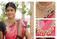 bridal gold jewellery set pavan mor