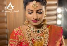 bride in kundan jewellery
