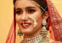 bride polki emerald jewellery