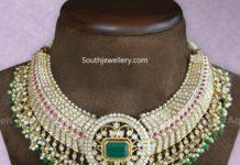 closed setting diamond necklace (2)
