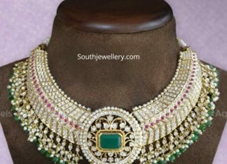 closed setting diamond necklace (2)