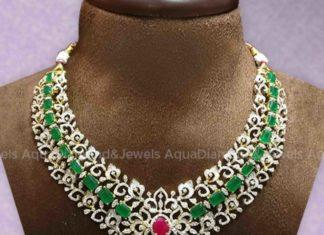 diamond emerald necklace (5)