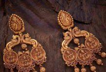lakshmi chandbali earrings