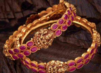 lakshmi ruby bangles