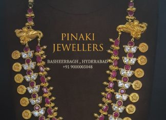 latest gold necklace designs 2020