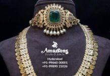 latest gold necklace designs amarsons pearls (4)