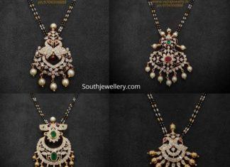 pacchi setting diamond pendants for nallapusalu