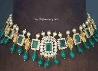 peacock emerald necklace