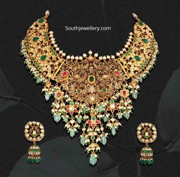 peacock nakshi necklace (1)