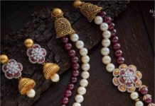 pearl and ruby beads necklace (2)