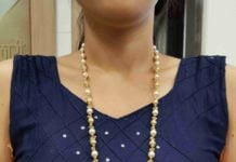 pearl chain with pendant