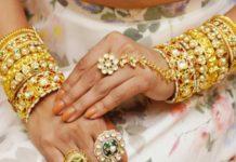 polki diamond bangles