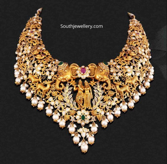 radha krishna necklace (1)