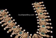 ram parivar gold necklace 22k (1)