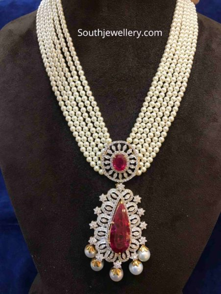 south sea pearl necklace with pendant (1)