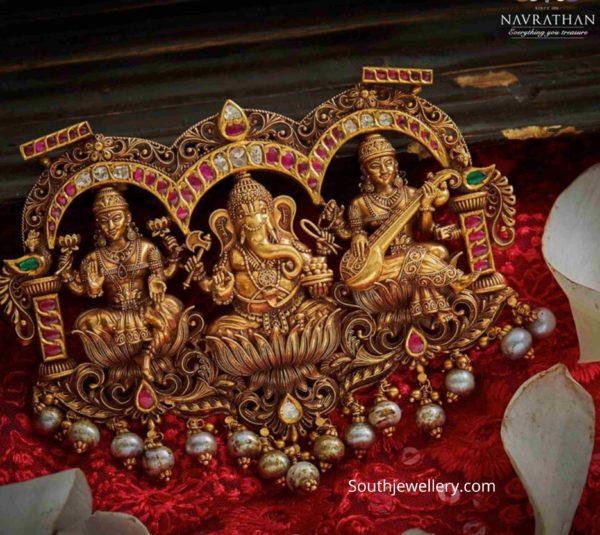 temple jewelelry pendant