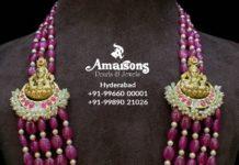 ruby beads mala