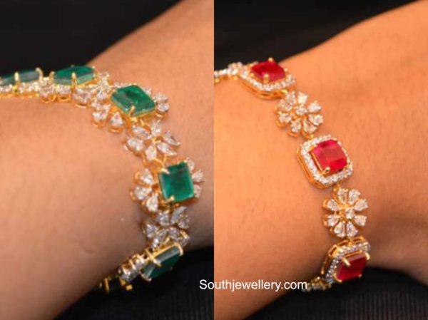 2 in 1 diamond choker plus bracelet designs (2)