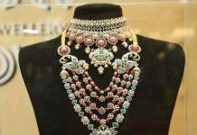 bridal diamond jewellery set malabar gold and diamonds