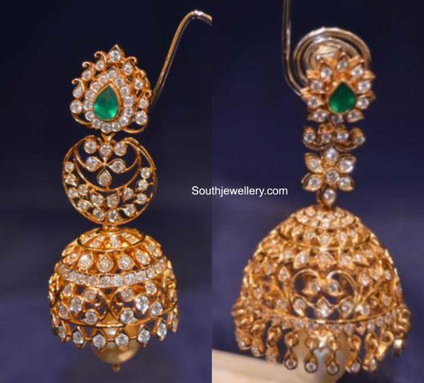 diamond jhumki designs 2020 (1)