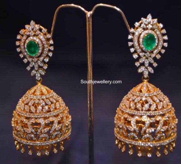 diamond jhumki designs 2020 (3)