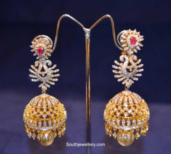 diamond jhumki designs 2020 (4)