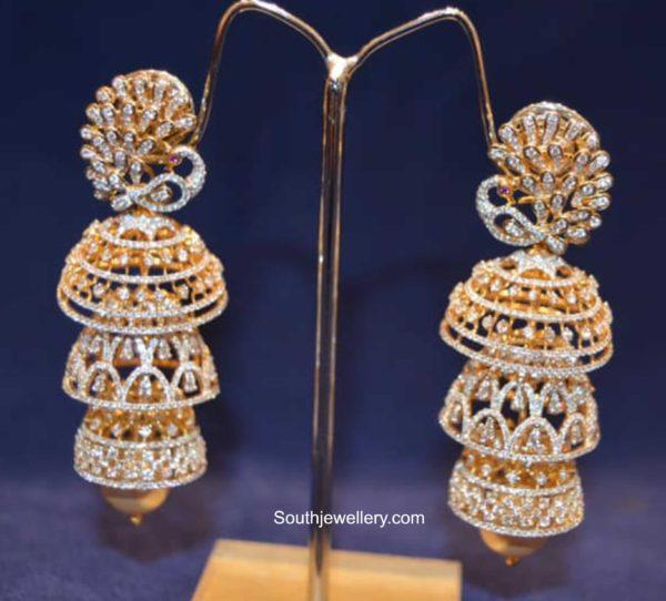 diamond jhumki designs 2020 (5)