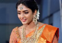 eesha rebba traditional gold jewellery