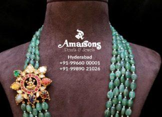 emerald beads mala (3)
