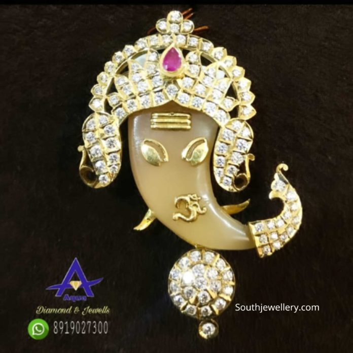 ganesh puligoru pendant (1)