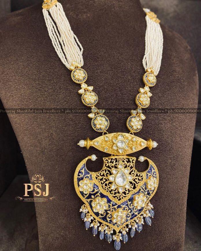 heritage pearl mala