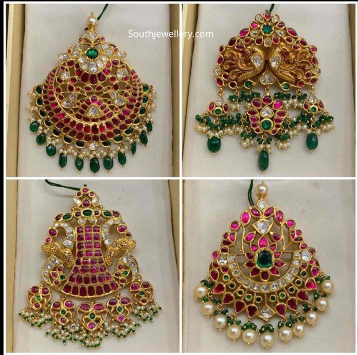 kundan pendants