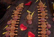 lakshmi floral bottu haram