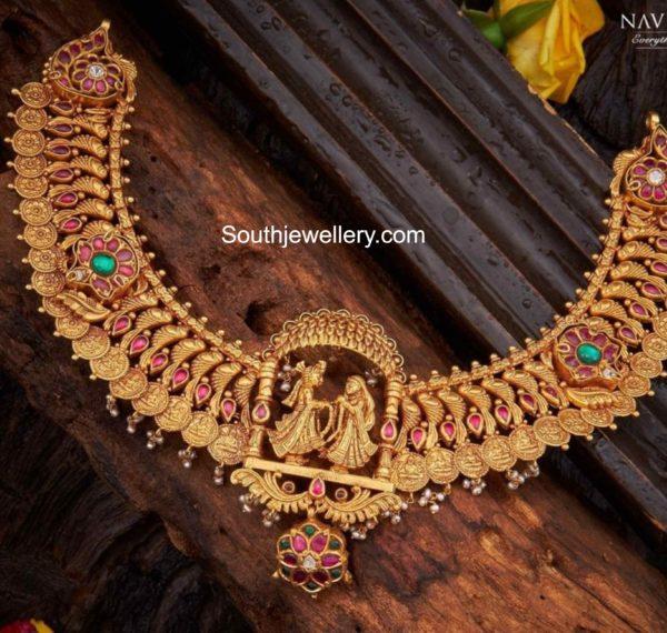 lakshmi kasu necklace (2)