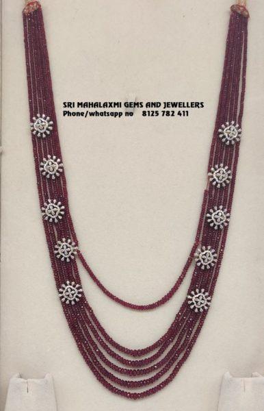 light weight beads necklace designs (2)