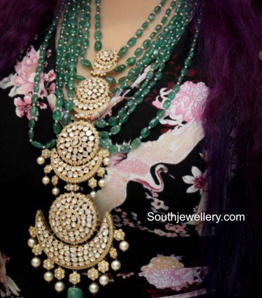 multi step emerald beads haram
