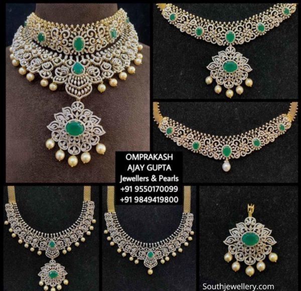 multi way changeable diamond necklace